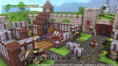 6) Dragon Quest Builders