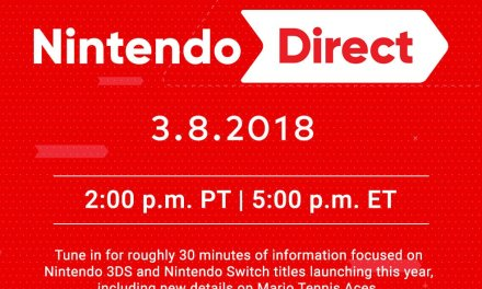 March 8th Nintendo Direct Announced