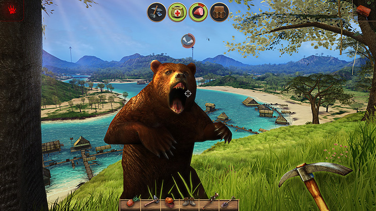 Radiation Island Bear