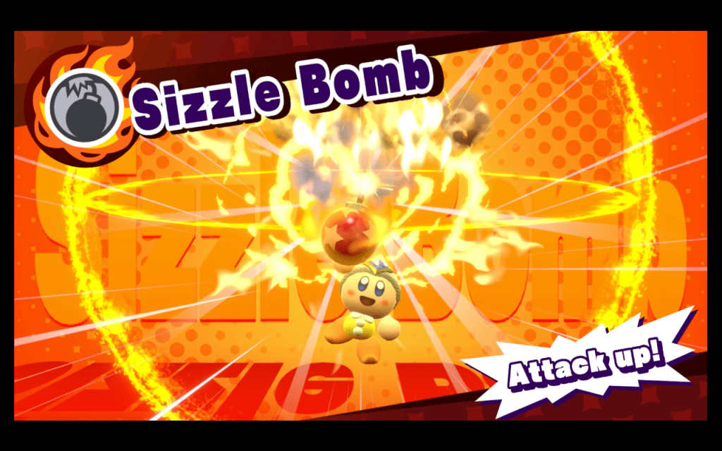 kirby copy mixing sizzle bomb