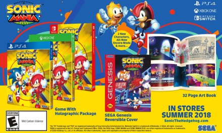 Sonic Mania Gets Physical With Sonic Mania Plus