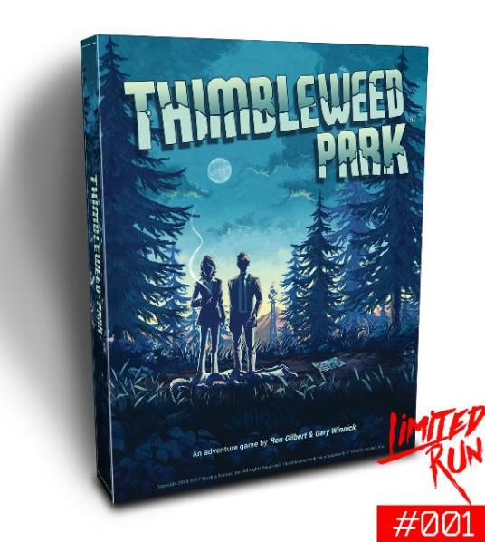 Thimbleweed Park Collector's Edition