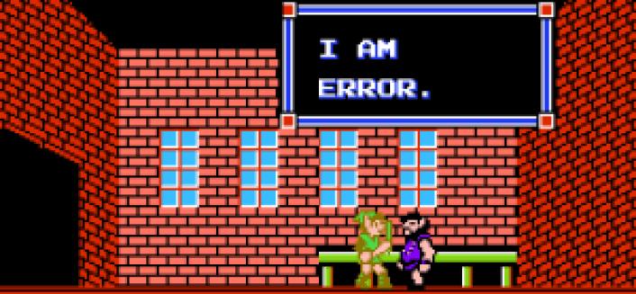 Zelda II I am Error