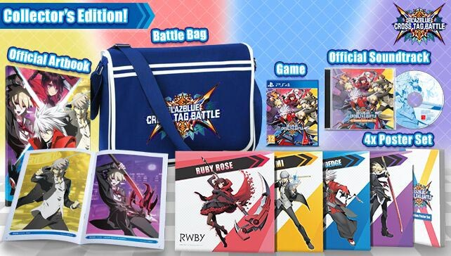 BlazBlue Cross Tag Battle Collector's Edition Image 1