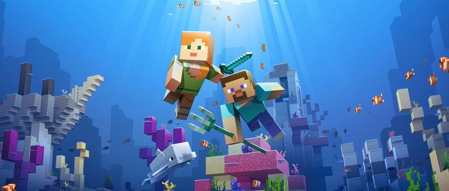 Minecraft's Update Aquatic details