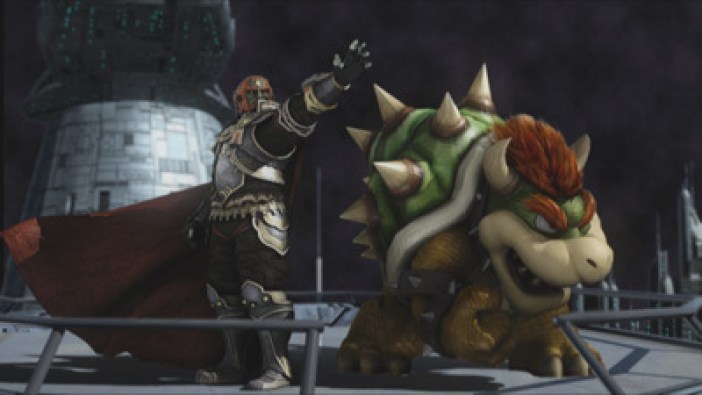 Ganon and Bowser in Subspace Emissary Mode