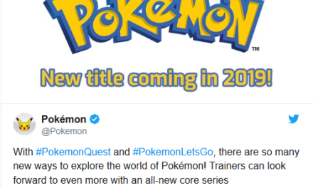Pokemon Gen 8 Coming To Nintendo Switch in 2019