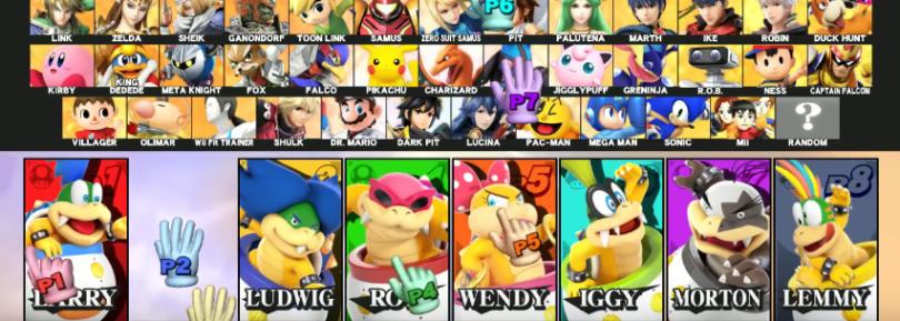 Koopa Kids in Smash 4