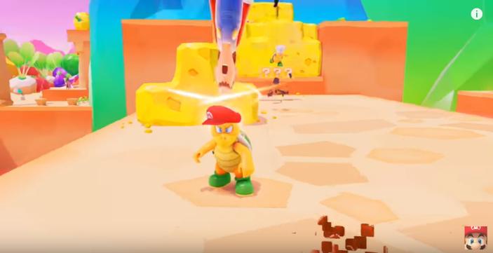 Mario Capturing Hammer Bros