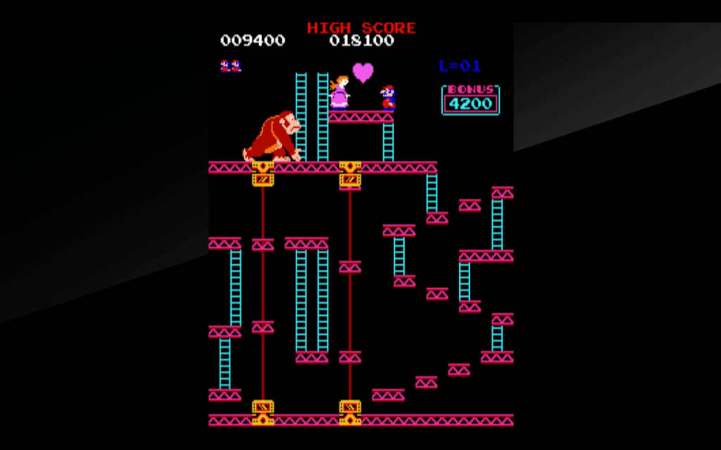 donkey kong arcade game on switch