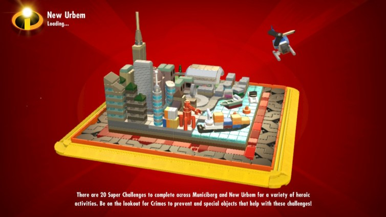 LEGO The Incredibles loading screen