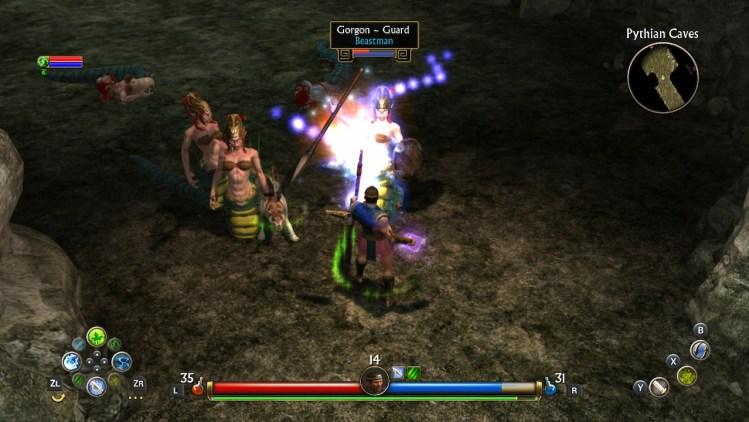 Titan's Quest Gorgons