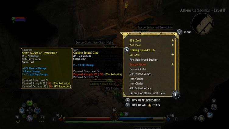Titan Quest loot