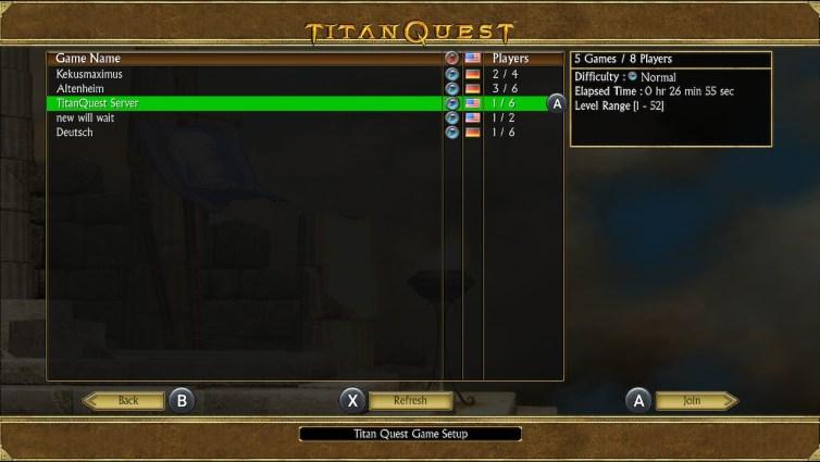 Titan Quest servers
