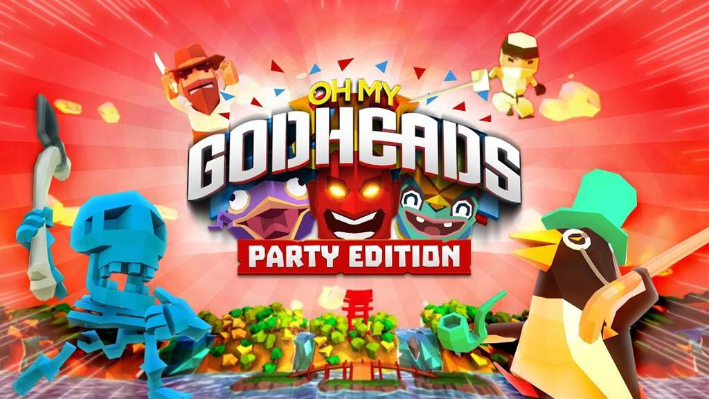 Out Of Your Mind Action – Oh My Godheads:  Party Edition Unveiled for Nintendo Switch