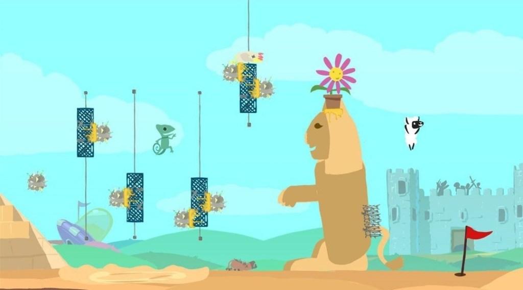 Ultimate Chicken Horse Screenshot