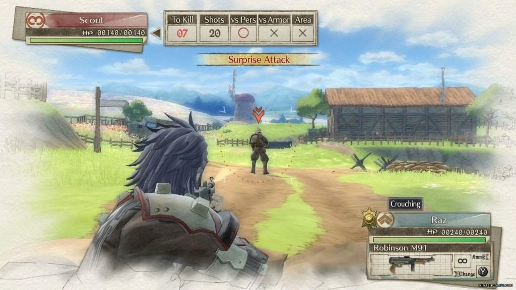 Valkyria Chronicles Screenshot 3