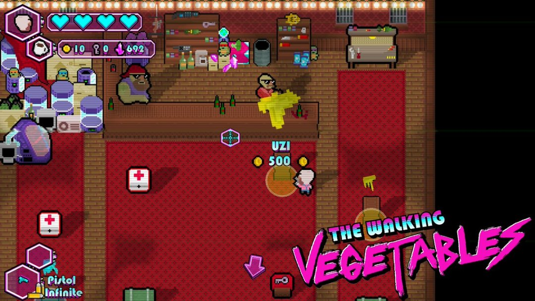 The Walking Vegetables Switch Review Screenshot 4