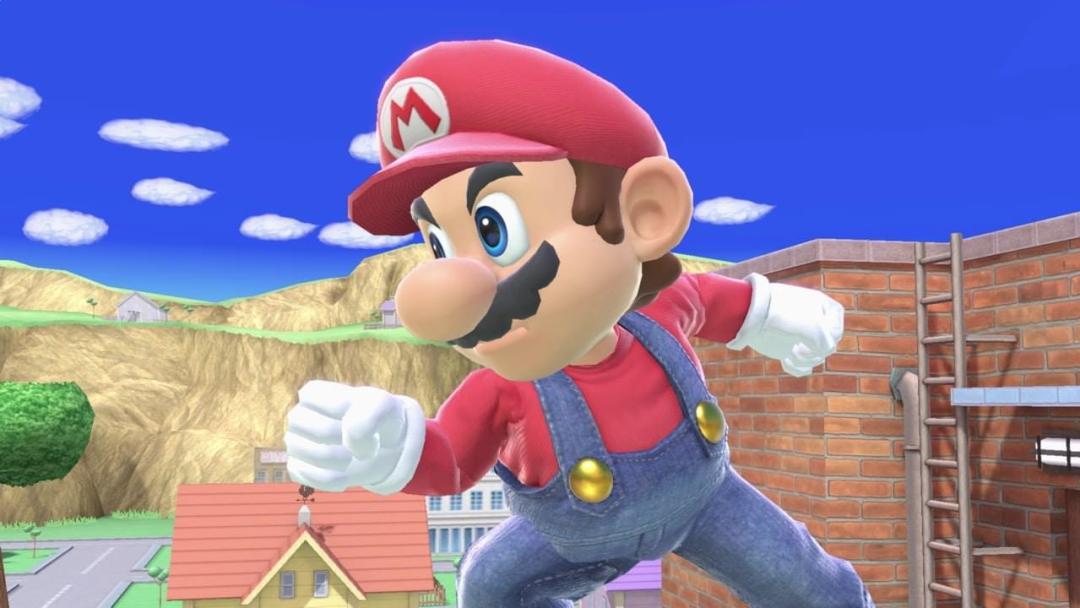 Mario Super Smash Bros. Ultimate Grab
