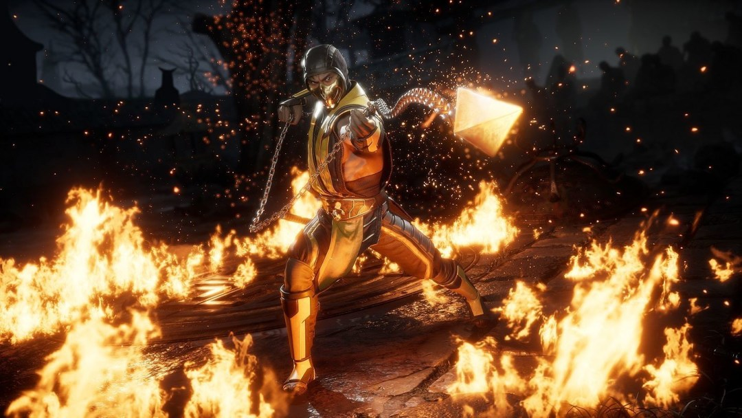 scorpion fire