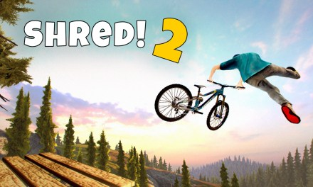 Shred 2! – Freeride Mountainbiking out today on Nintendo Switch
