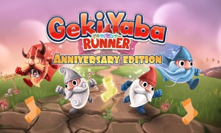 In a world of magic, only a gnome's sprightly feet can save the princess. Geki Yaba Runner Anniversary Edition has just leaped onto Nintendo Switch