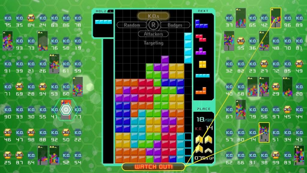 Tetris 99 CPU Battle
