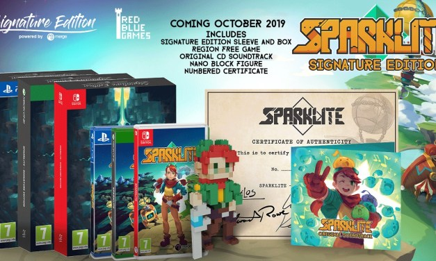 Action Adventure Sparklite's Pixel Perfection is Getting a Collectible Signature Edition