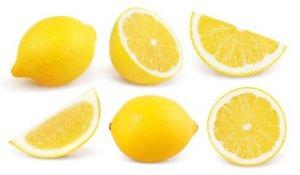 Lemon for improving body odor