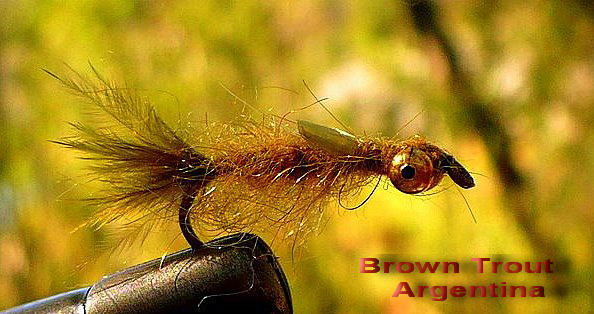 Damsel Fly w/ Bead Chain Eyes de BrownTroutArgentina