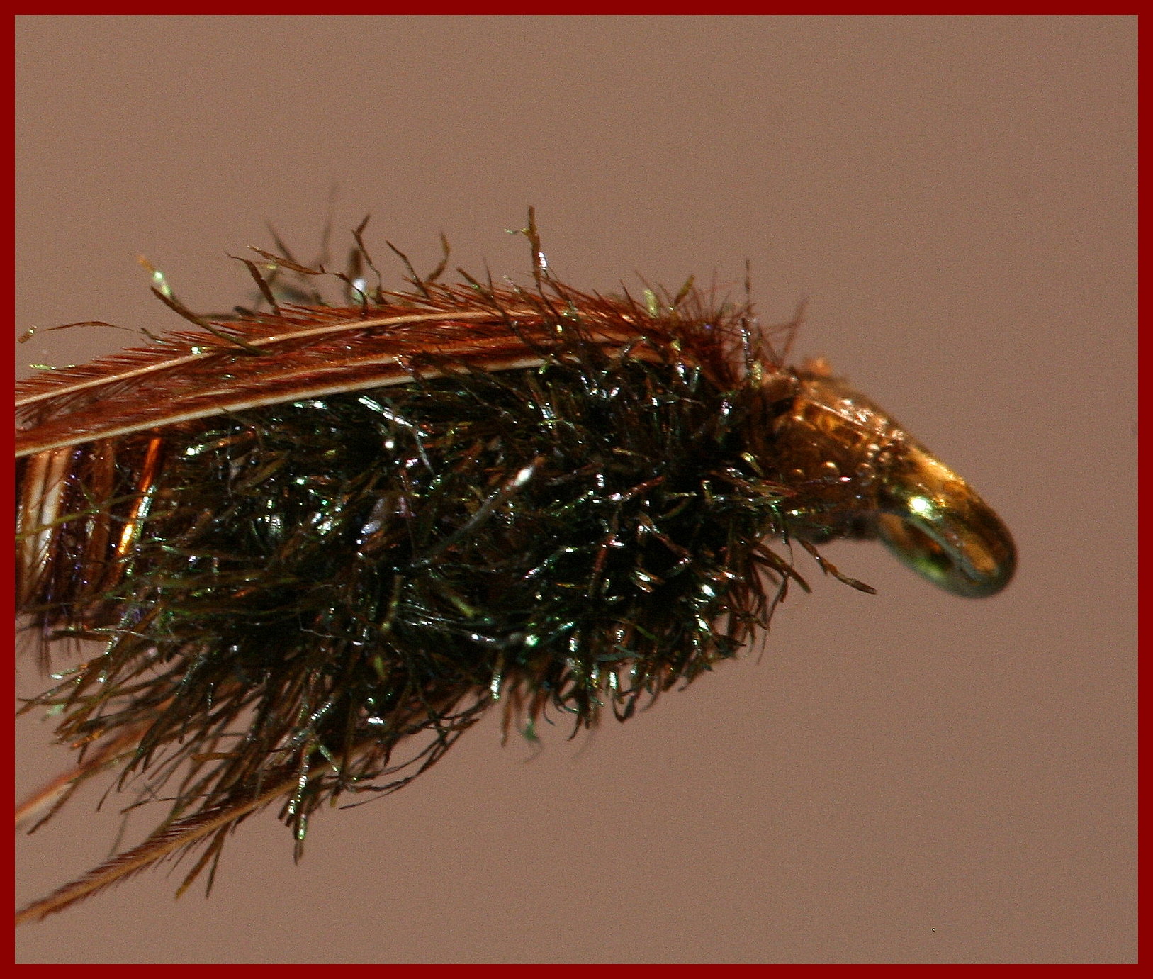 Pheasant Tail Nymph by SwittersB (Thorax, Thread Head)