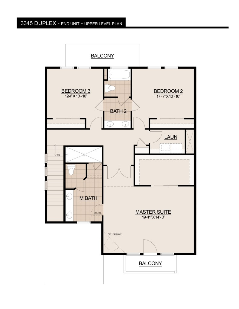 3345 Duplex UPPER LEVEL