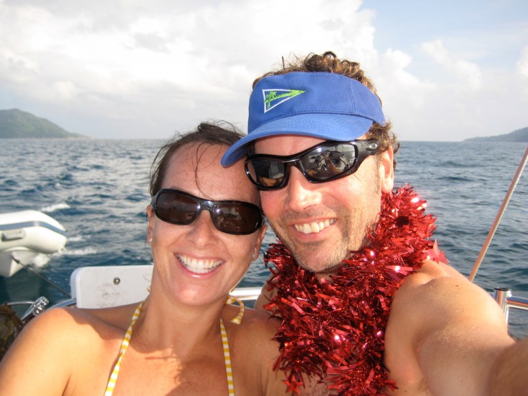 Seychelles christmas charter with the Moorings
