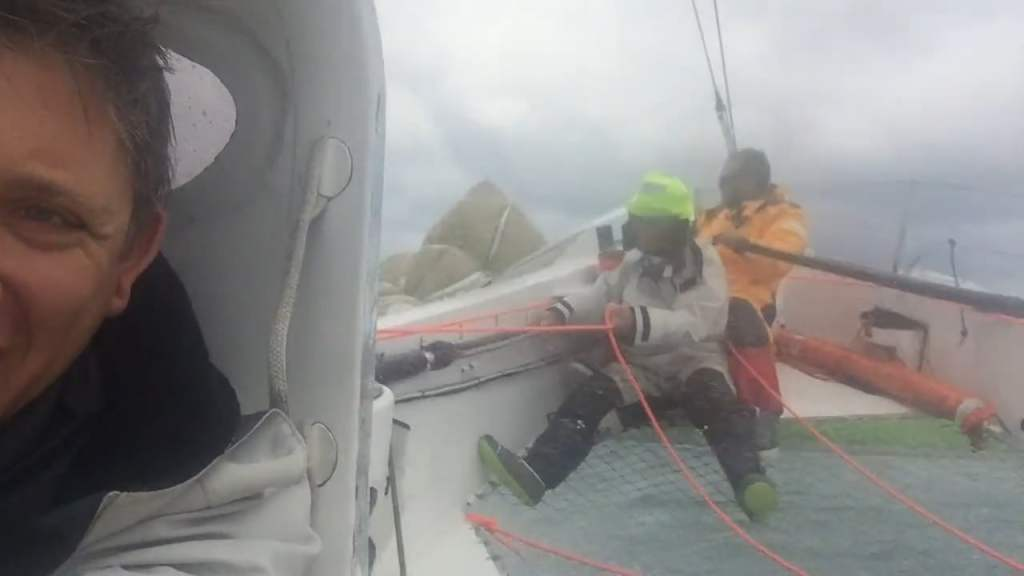 What's it really like onboard sailing at 35 knots on Phaedo3?
