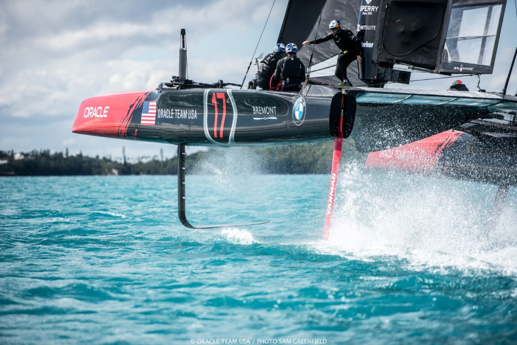 Credit ORACLE TEAM USA