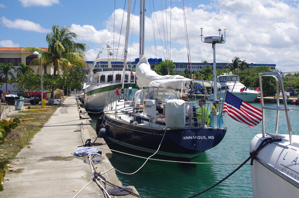 There's simply no better way to visit Cuba than to sail there. Credit Andy Schell