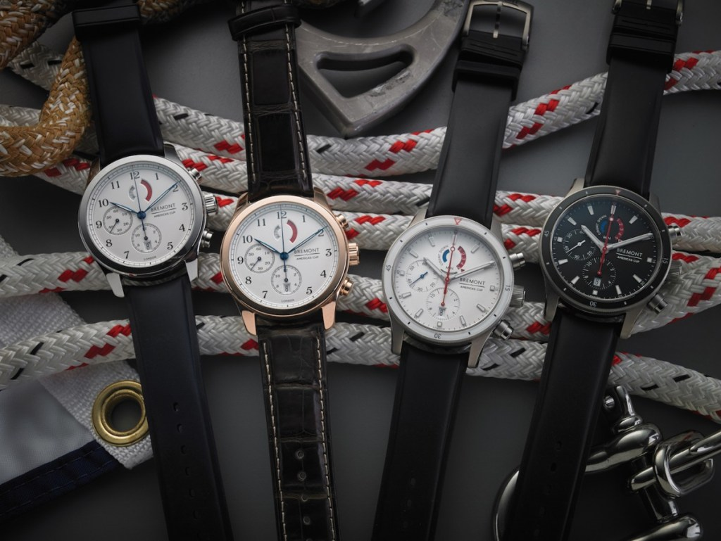 The America's Cup collection.