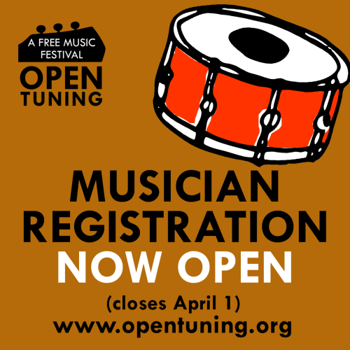drum open tuning