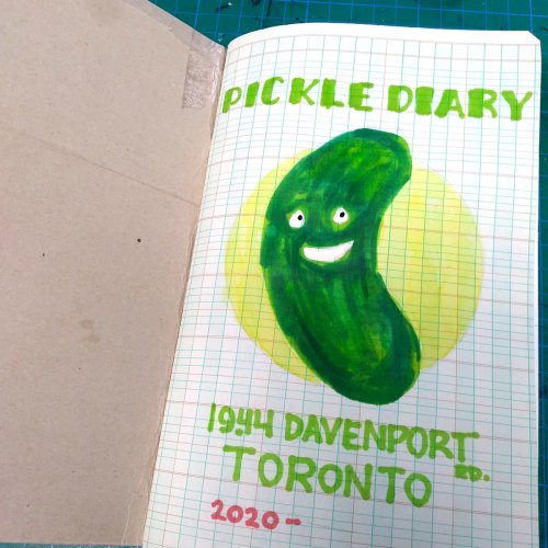 Pickle Diary frontispiece