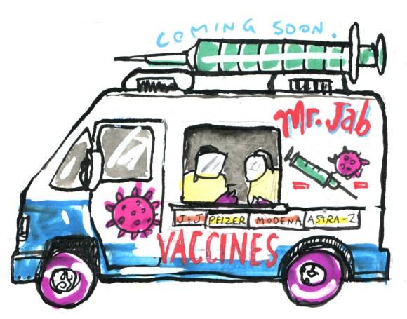 Mr Jab ice cream truck