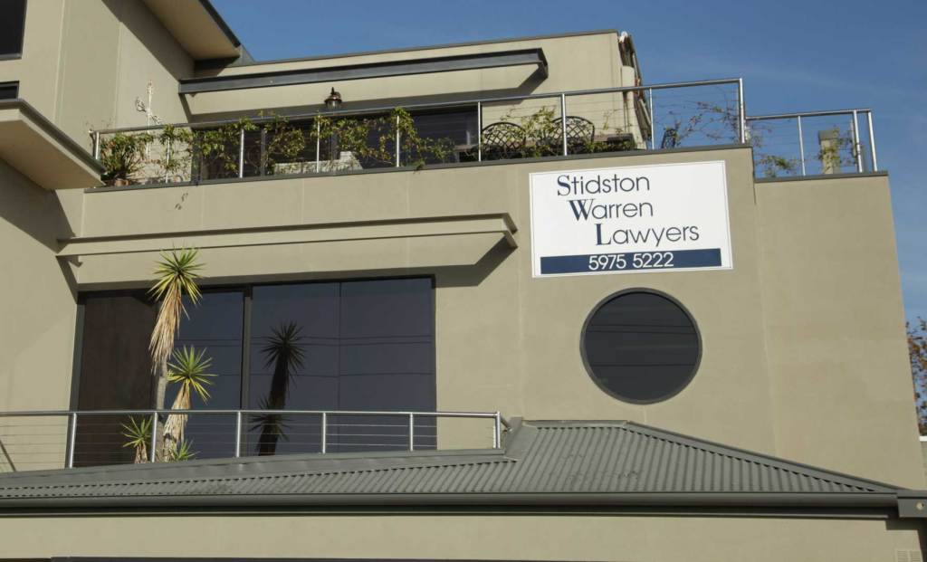 Stidston Warren Lawyers Mornington Wills Exterior Image