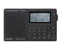 The Grundig G3 shortwave radio.