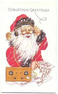 Santa likes Dit Dah Radio!