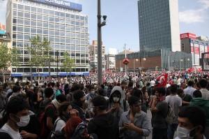 Gezi protest in Ankara  (Source: Wikimedia Commons)