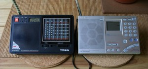 The Tecsun R-2010D compared with my Sony ICF-SW7600GR (click to enlarge)