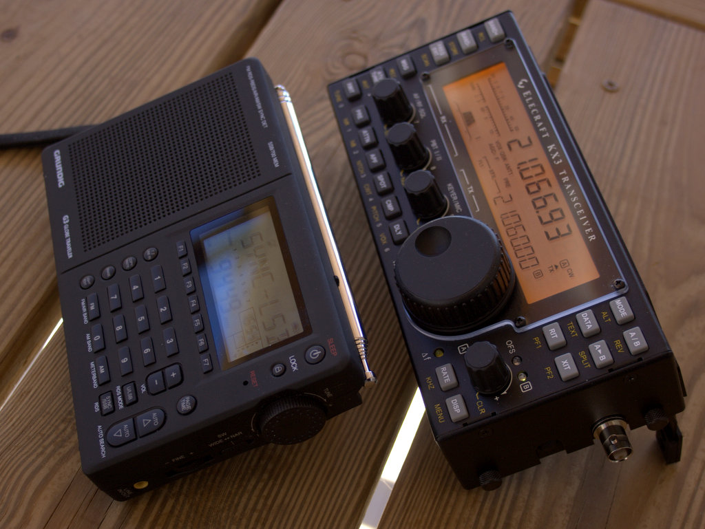The evolution of a radio shack…and parting ways with my Elecraft K2