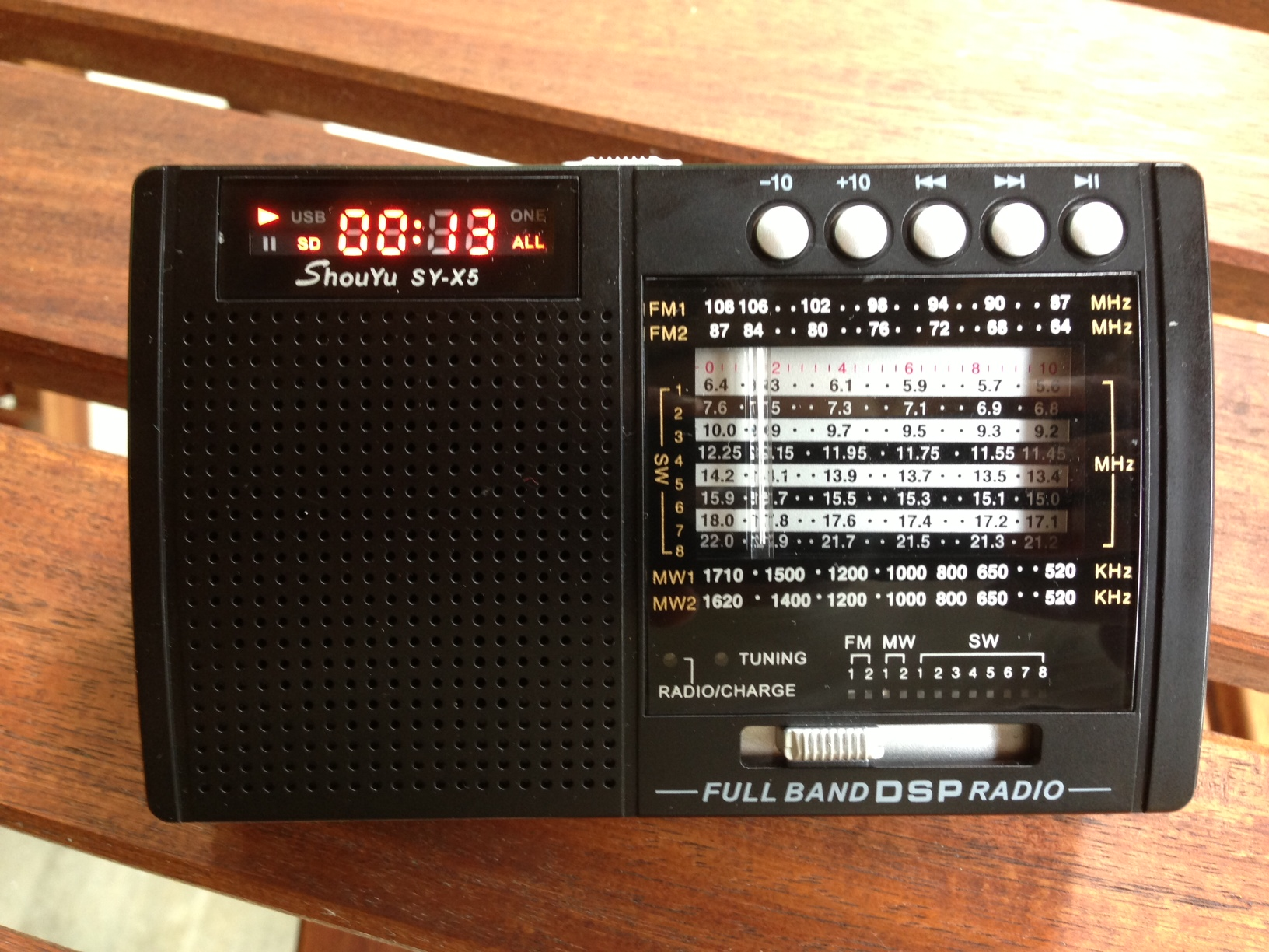 Mechanically-tuned portable DSP radios: a shootout | The SWLing Post
