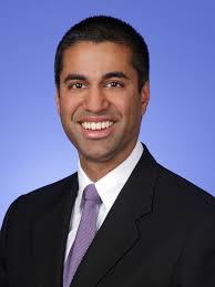 FCC Commissioner Ajit Pai (R)
