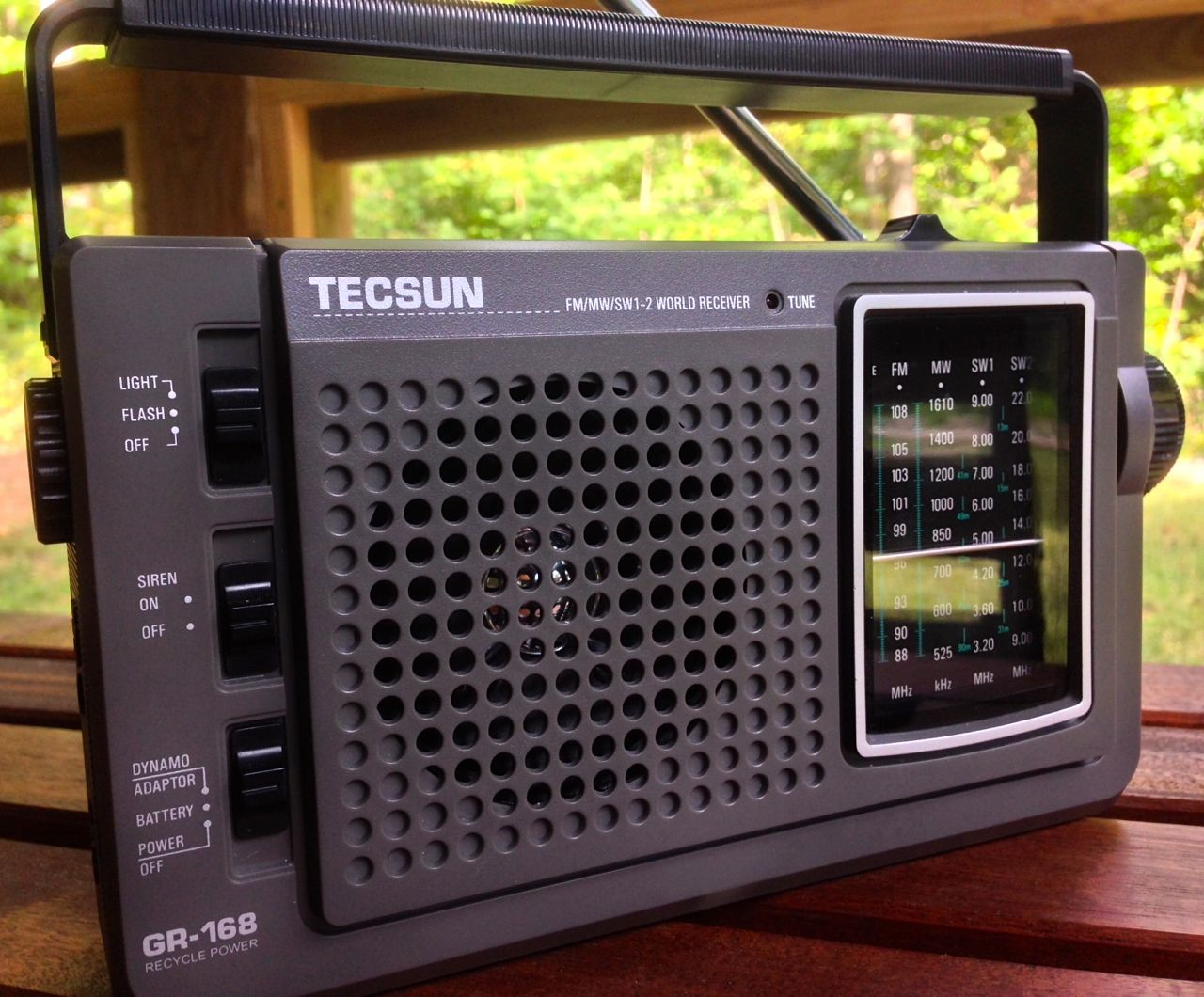 Living off-grid? The ideal shortwave radio system for you