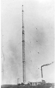 The Tuckerton Tower circa 1916 (Souce: Tom Mcnally mcnally.cc)